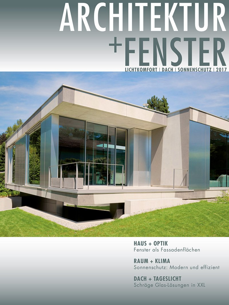 front-cover-magazin-architektur-fenster-supplements-fachschriftenverlag