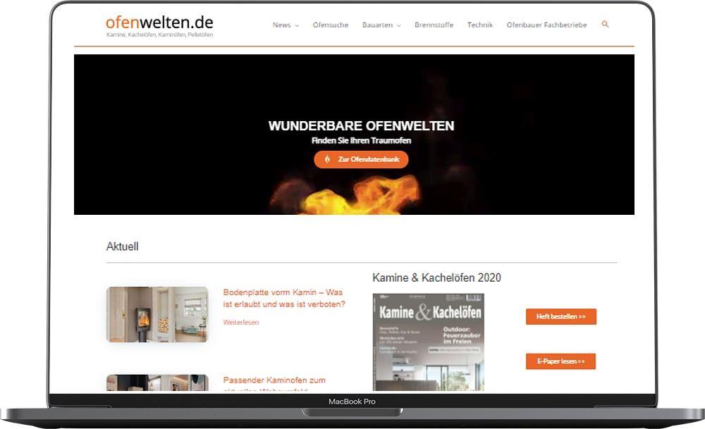 Website Ofenwelten